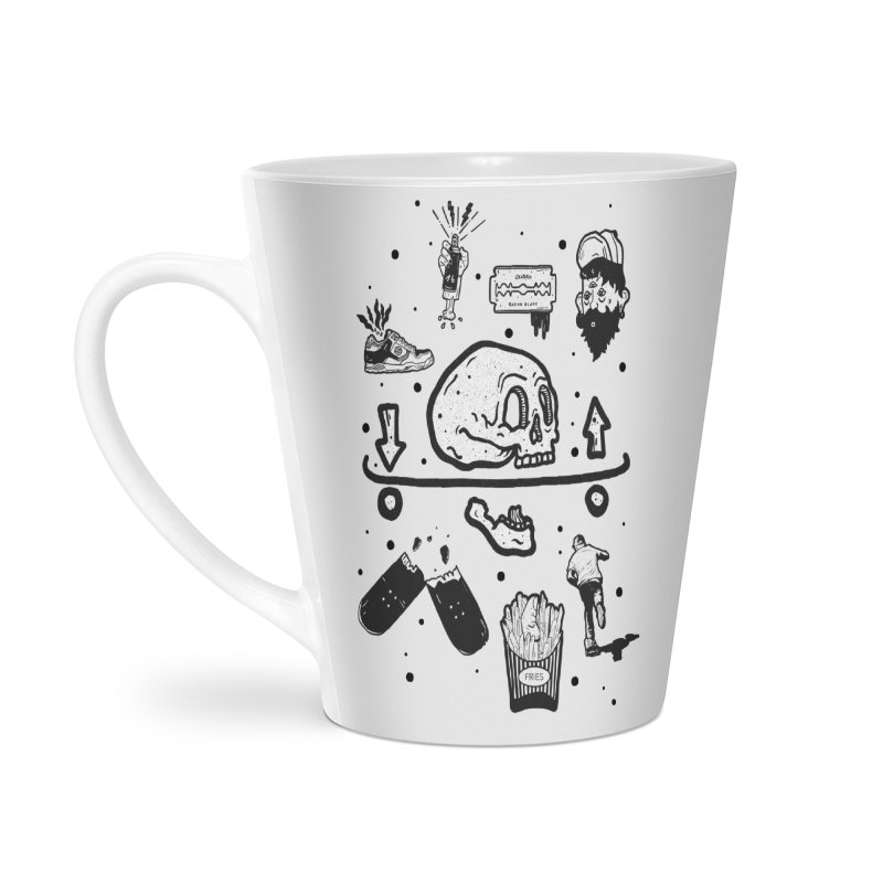 Calavera Pictogrames Accessories Mug by · STUDI X-LEE ·