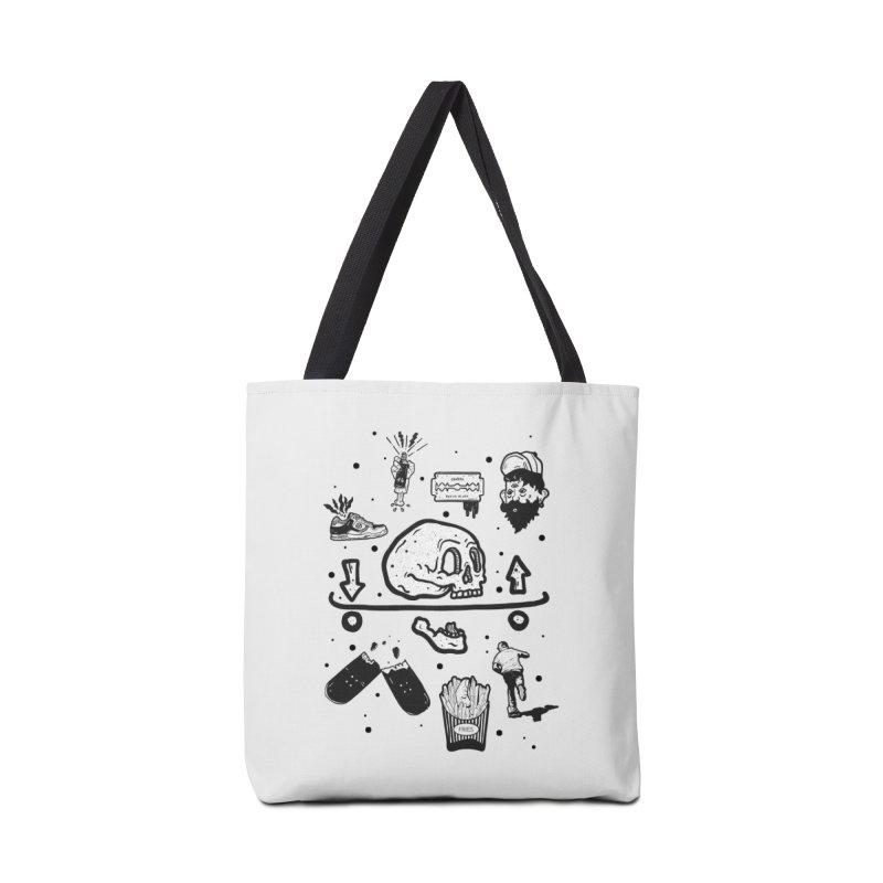 Calavera Pictogrames Accessories Bag by INK. ALPINA