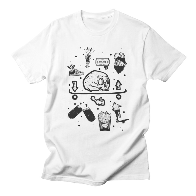 Calavera Pictogrames Men's T-Shirt by · STUDI X-LEE ·