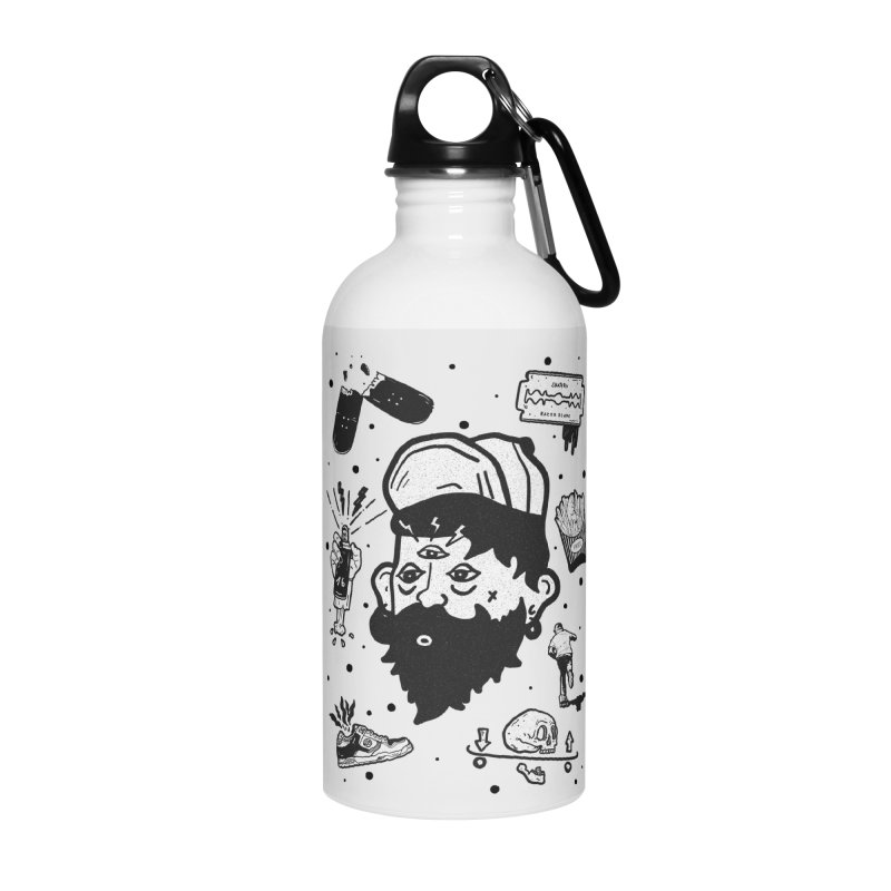 Sk8 Pictograma M01 Accessories Water Bottle by · STUDI X-LEE ·