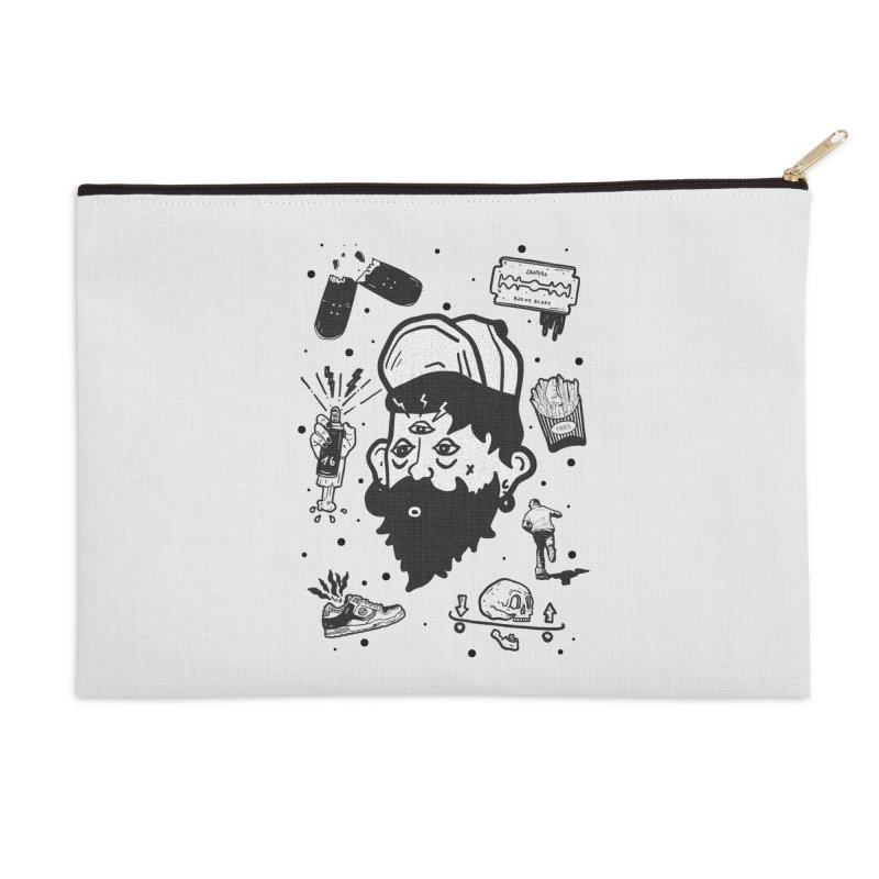 Sk8 Pictograma M01 Accessories Zip Pouch by · STUDI X-LEE ·