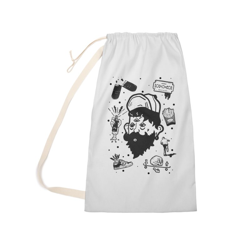 Sk8 Pictograma M01 Accessories Laundry Bag Bag by · STUDI X-LEE ·