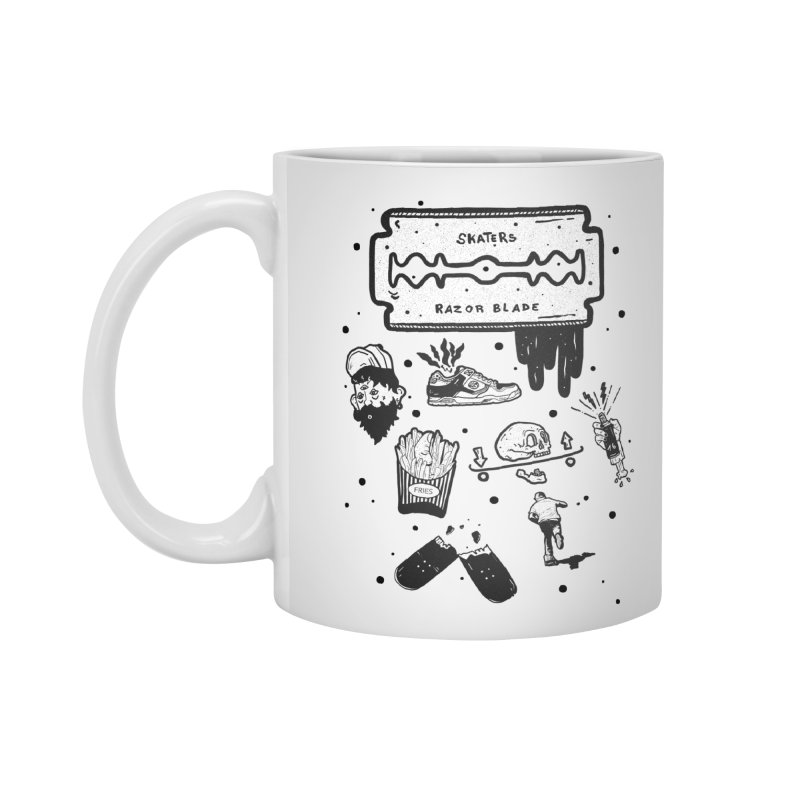 Sk8 Pictogrames M02 Accessories Mug by INK. ALPINA