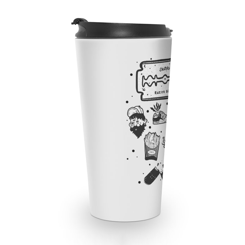Sk8 Pictogrames M02 Accessories Travel Mug by · STUDI X-LEE ·