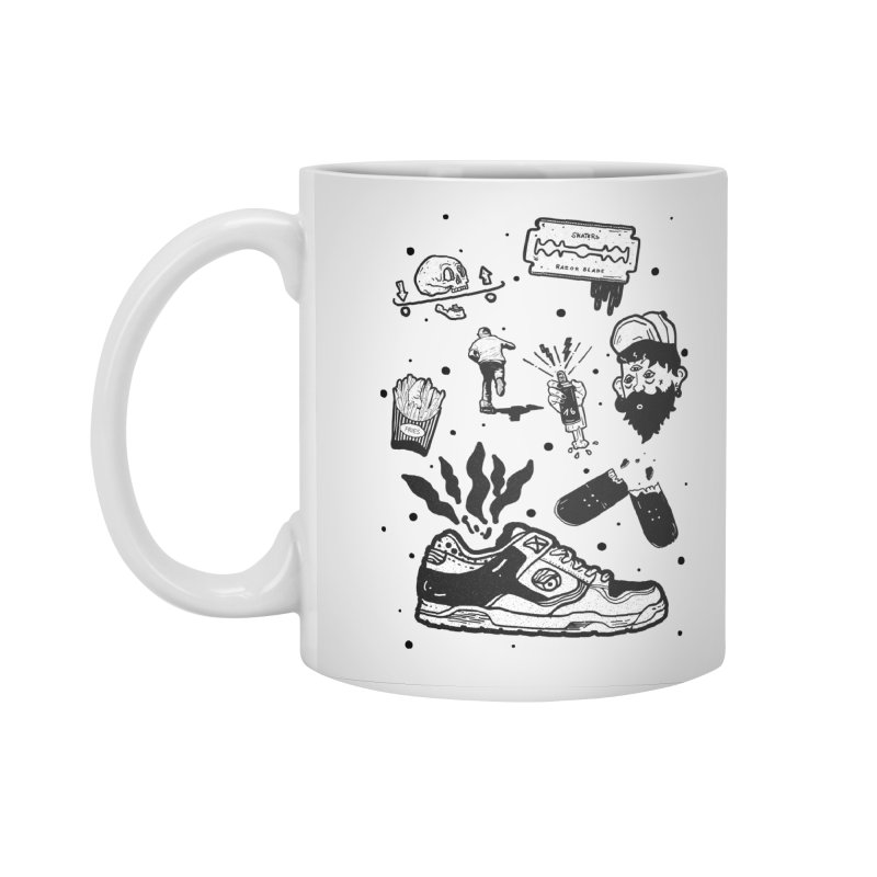 Sk8 pictogrames M03 Accessories Mug by · STUDI X-LEE ·