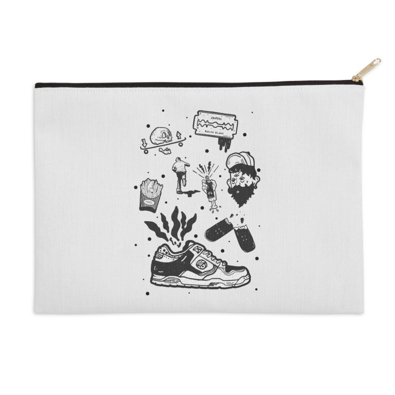 Sk8 pictogrames M03 Accessories Zip Pouch by · STUDI X-LEE ·