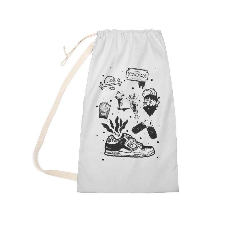 Sk8 pictogrames M03 Accessories Laundry Bag Bag by · STUDI X-LEE ·