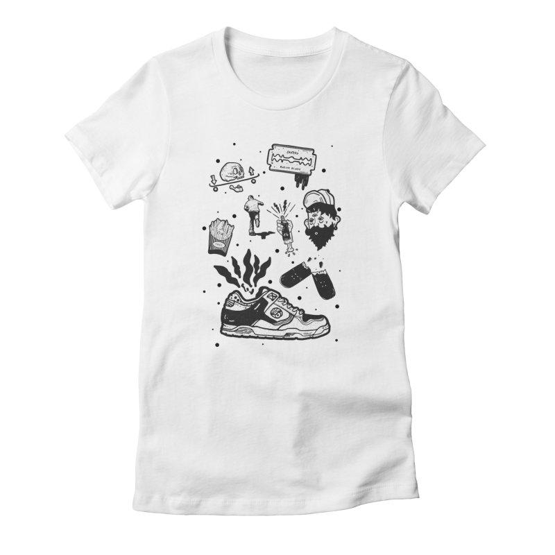 Sk8 pictogrames M03 Women's T-Shirt by · STUDI X-LEE ·