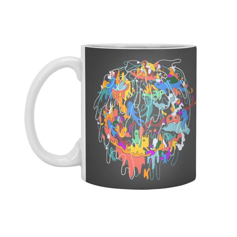 ABSTRACTSUMMER Accessories Mug by INK. ALPINA