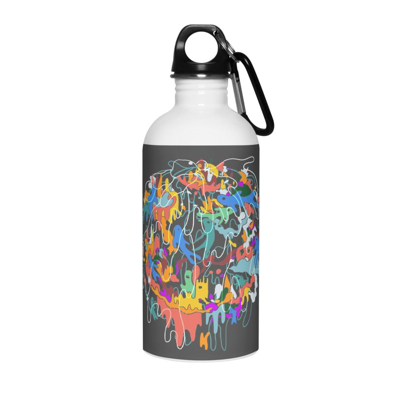 ABSTRACTSUMMER Accessories Water Bottle by INK. ALPINA