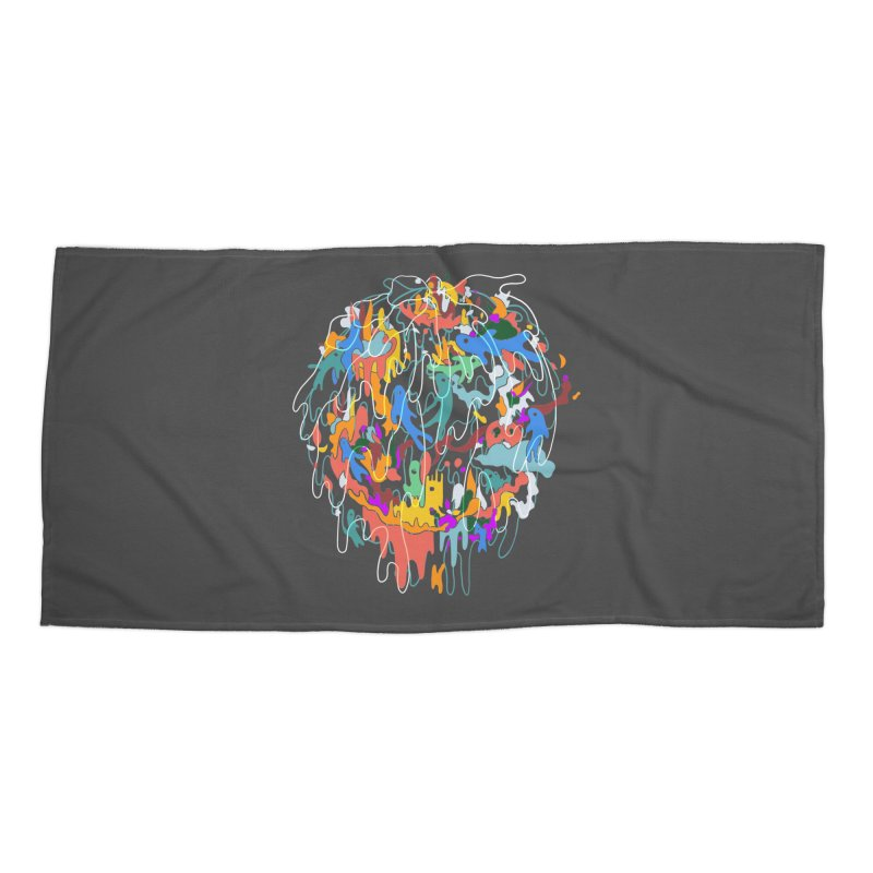 ABSTRACTSUMMER Accessories Beach Towel by INK. ALPINA