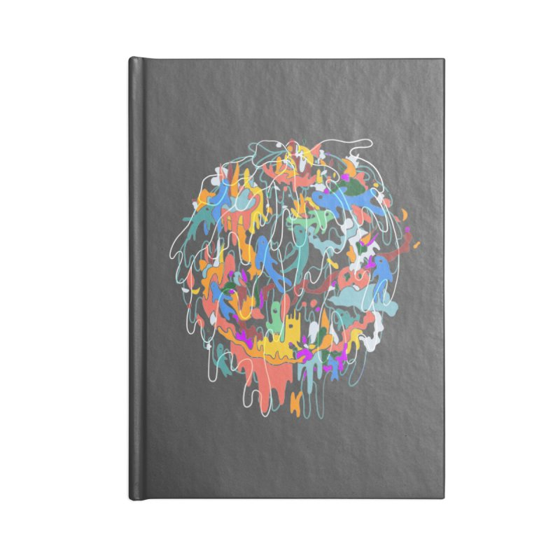 ABSTRACTSUMMER Accessories Lined Journal Notebook by · STUDI X-LEE ·