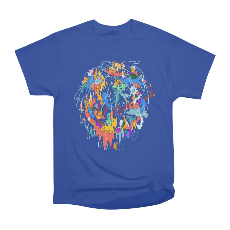 ABSTRACTSUMMER Women's Heavyweight Unisex T-Shirt by INK. ALPINA