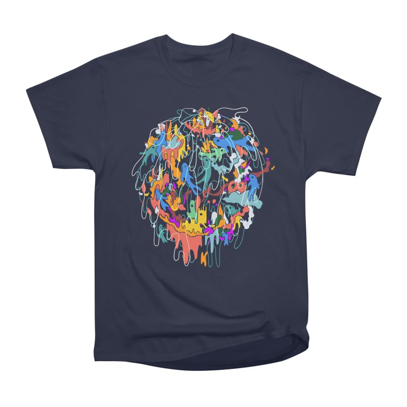 ABSTRACTSUMMER Men's Heavyweight T-Shirt by INK. ALPINA