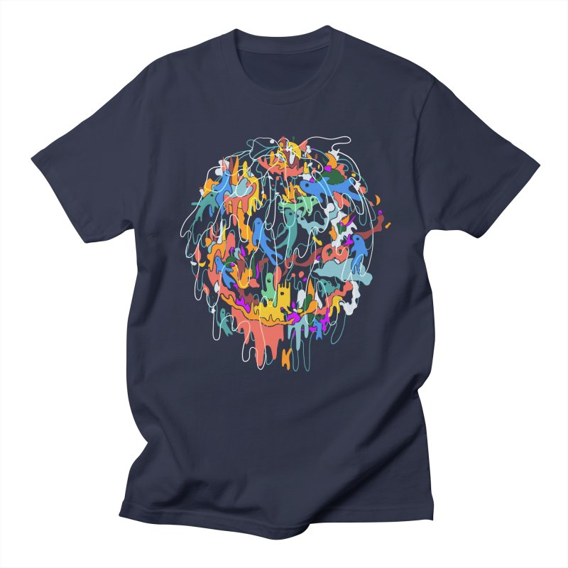 ABSTRACTSUMMER Men's Regular T-Shirt by INK. ALPINA