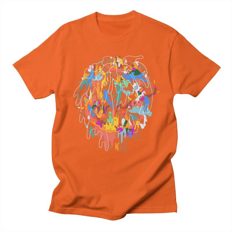 ABSTRACTSUMMER Men's Regular T-Shirt by · STUDI X-LEE ·