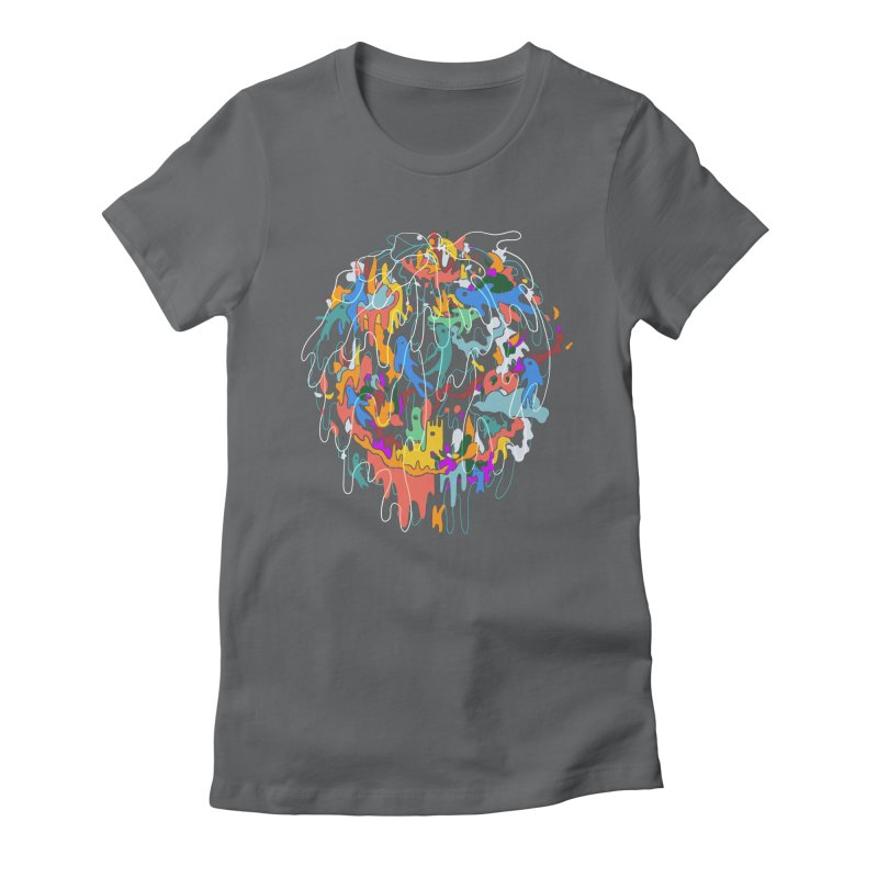 ABSTRACTSUMMER Women's T-Shirt by · STUDI X-LEE ·