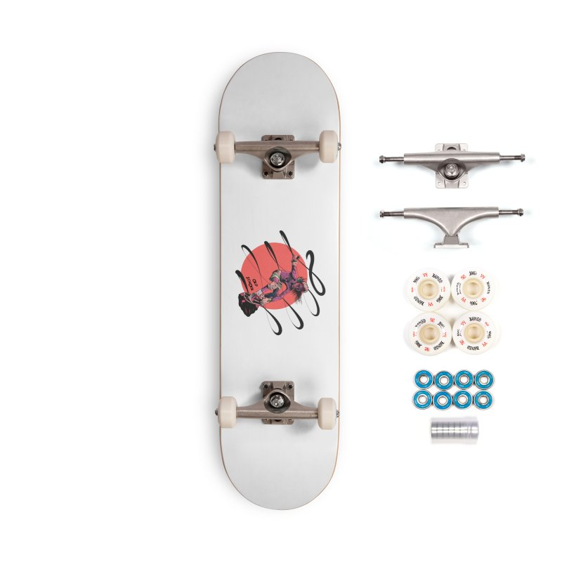Skater80 Red Accessories Skateboard by · STUDI X-LEE ·