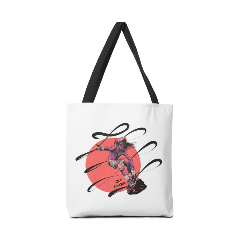Skater80 Red Accessories Bag by INK. ALPINA