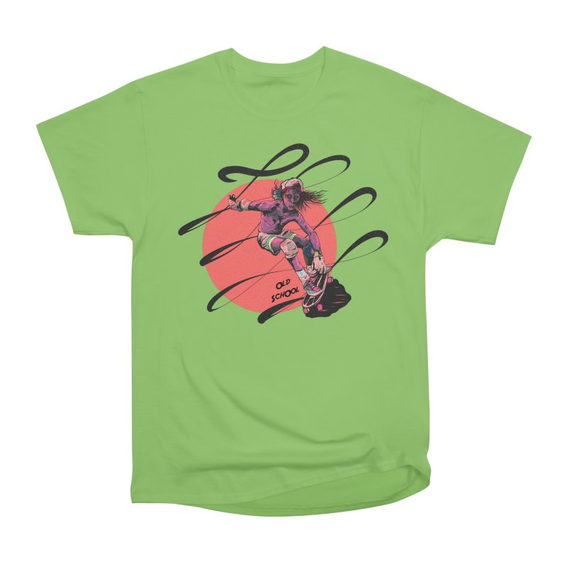 Skater80 Red Men's T-Shirt by · STUDI X-LEE ·