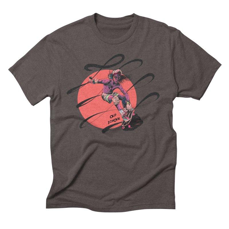 Skater80 Red Men's Triblend T-Shirt by · STUDI X-LEE ·