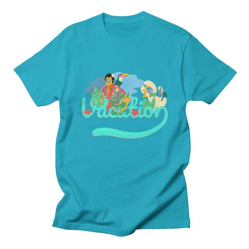 I'm on Vacation Women's Regular Unisex T-Shirt by INK. ALPINA