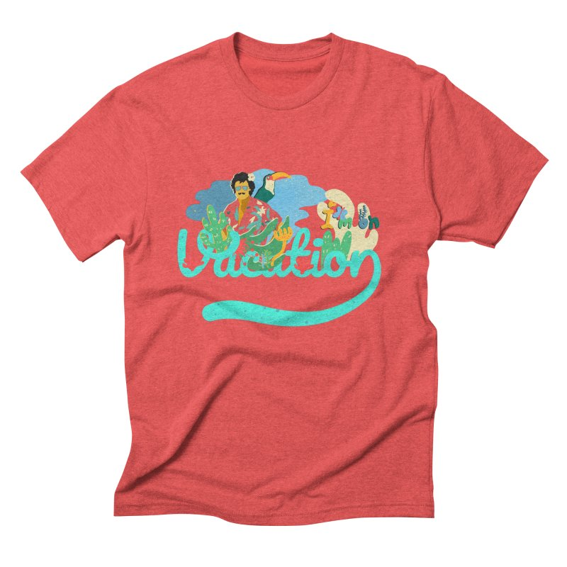 I'm on Vacation Men's Triblend T-Shirt by INK. ALPINA