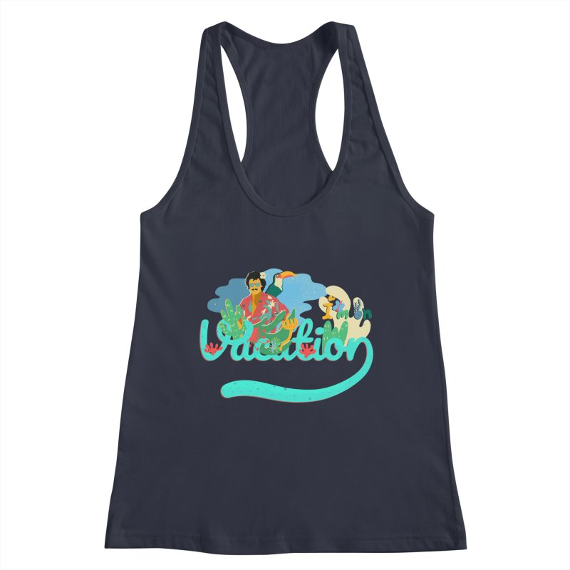 I'm on Vacation Women's Racerback Tank by · STUDI X-LEE ·