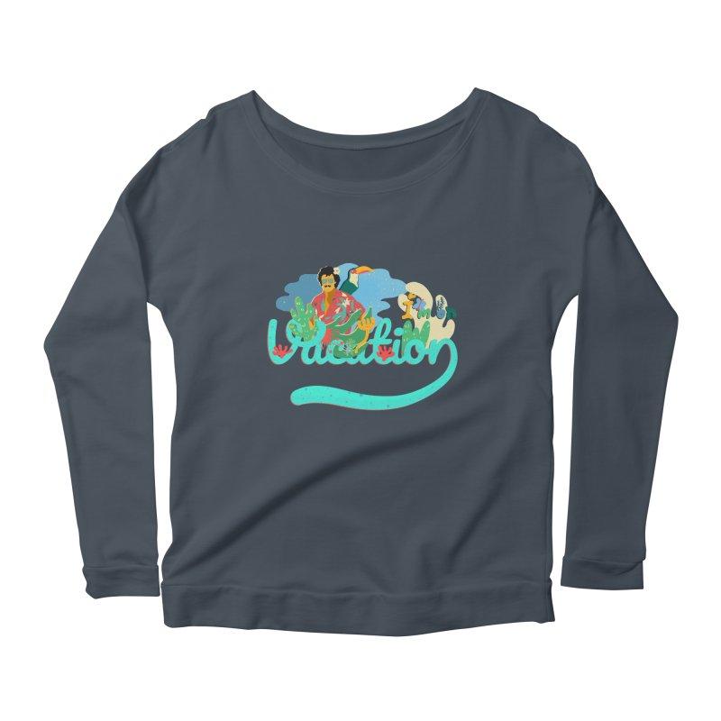 I'm on Vacation Women's Scoop Neck Longsleeve T-Shirt by · STUDI X-LEE ·