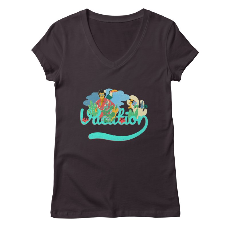 I'm on Vacation Women's V-Neck by · STUDI X-LEE ·