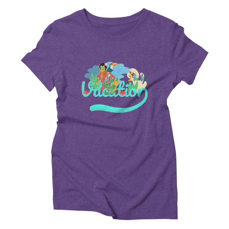 I'm on Vacation Women's Triblend T-Shirt by · STUDI X-LEE ·