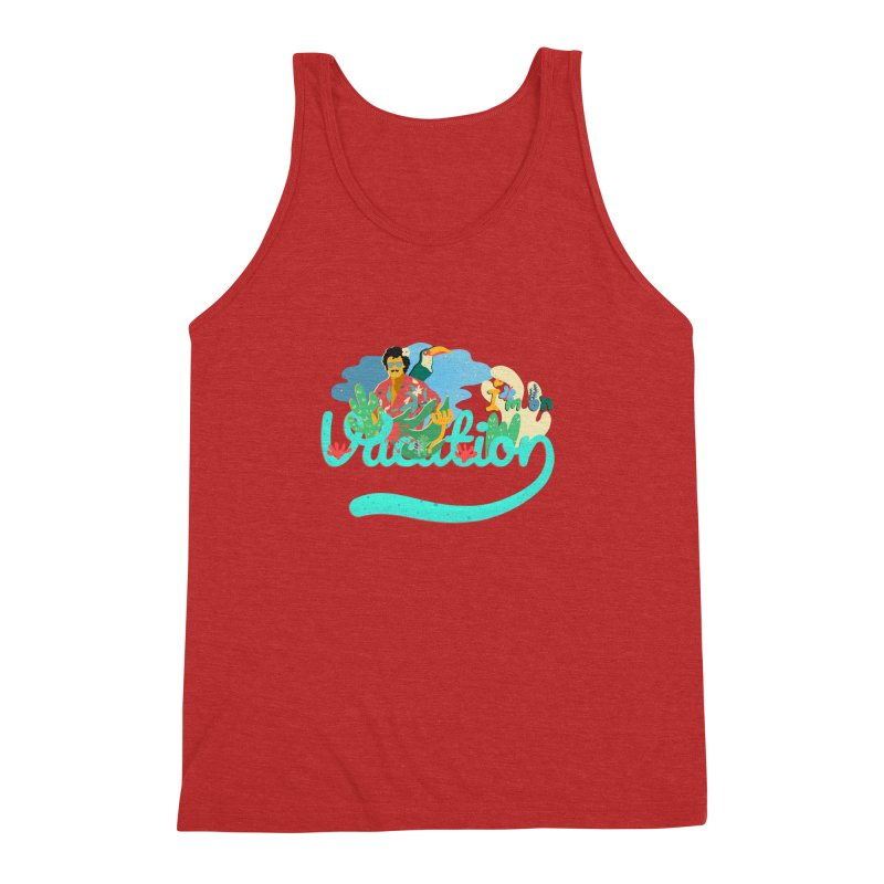 I'm on Vacation Men's Triblend Tank by INK. ALPINA