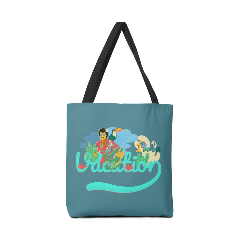 I'm on Vacation Accessories Bag by INK. ALPINA