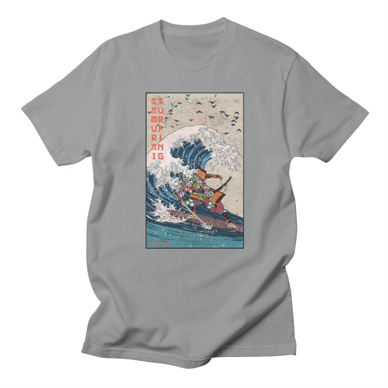 Samurai Surfing Men's Regular T-Shirt by INK. ALPINA
