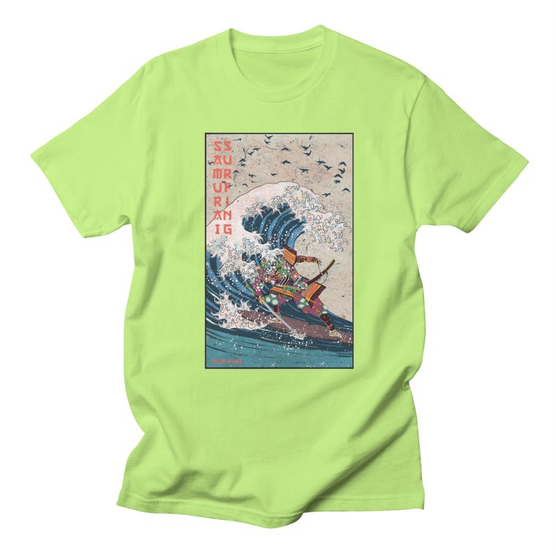 Samurai Surfing Women's T-Shirt by · STUDI X-LEE ·