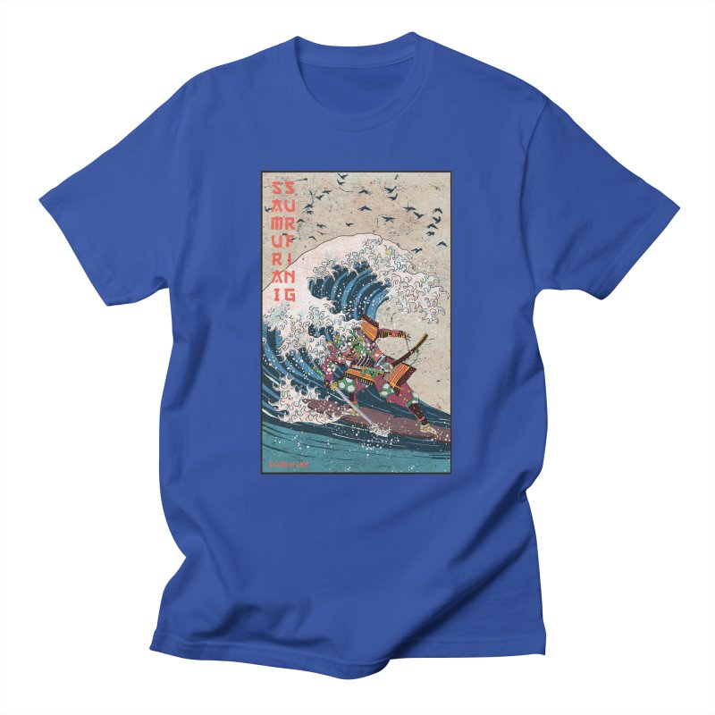 Samurai Surfing Women's T-Shirt by · STUDI X-LEE ·