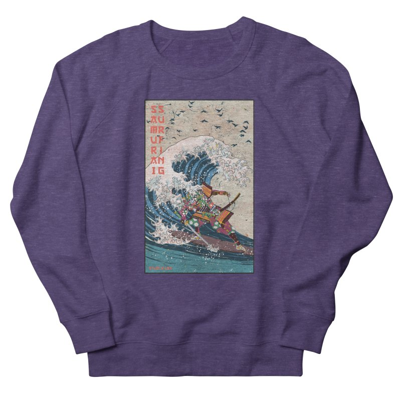 Samurai Surfing Men's Sweatshirt by · STUDI X-LEE ·