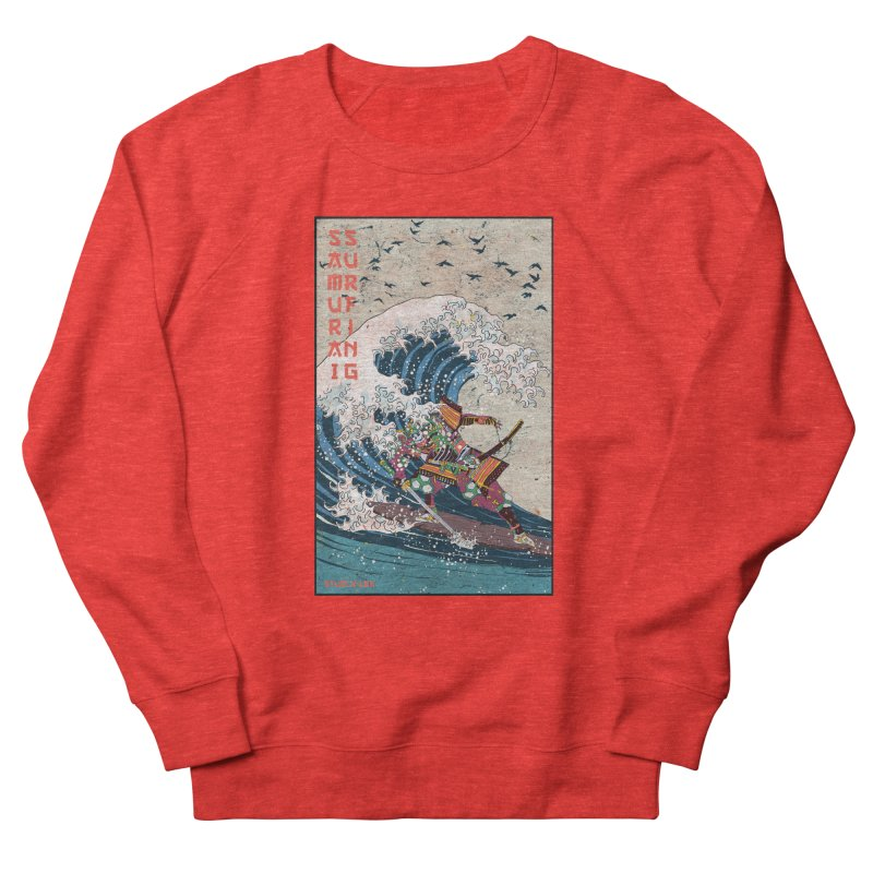 Samurai Surfing Men's Sweatshirt by · STUDI X-LEE ·