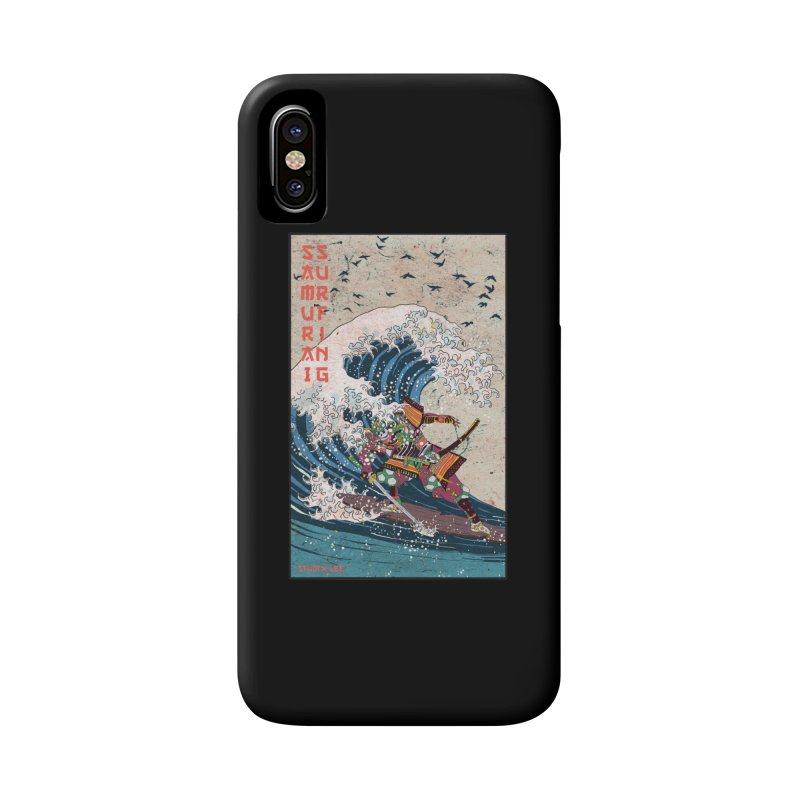 Samurai Surfing Accessories Phone Case by INK. ALPINA