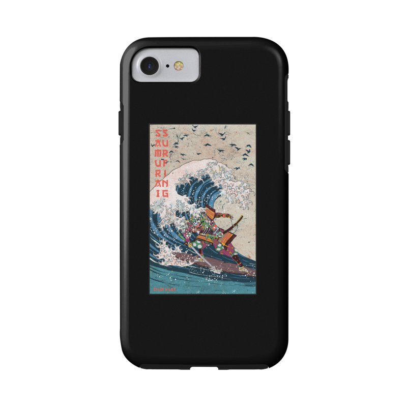 Samurai Surfing Accessories Phone Case by · STUDI X-LEE ·