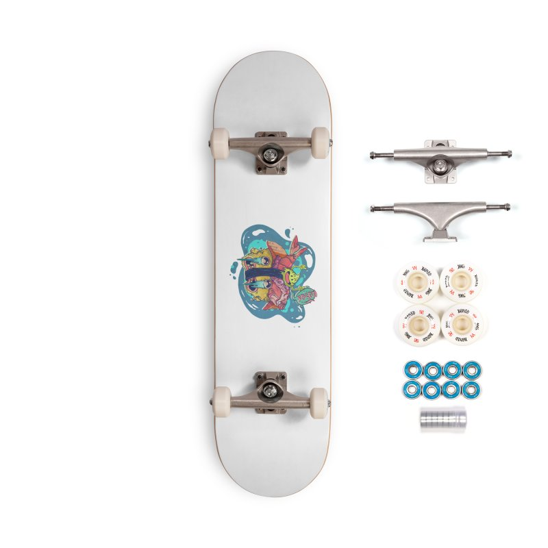 Wasabi Power Accessories Skateboard by · STUDI X-LEE ·