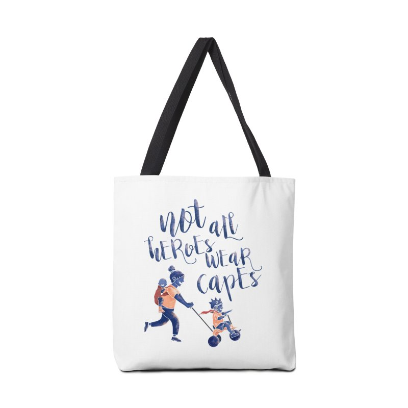Not All Heroes wear Capes Accessories Bag by · STUDI X-LEE ·