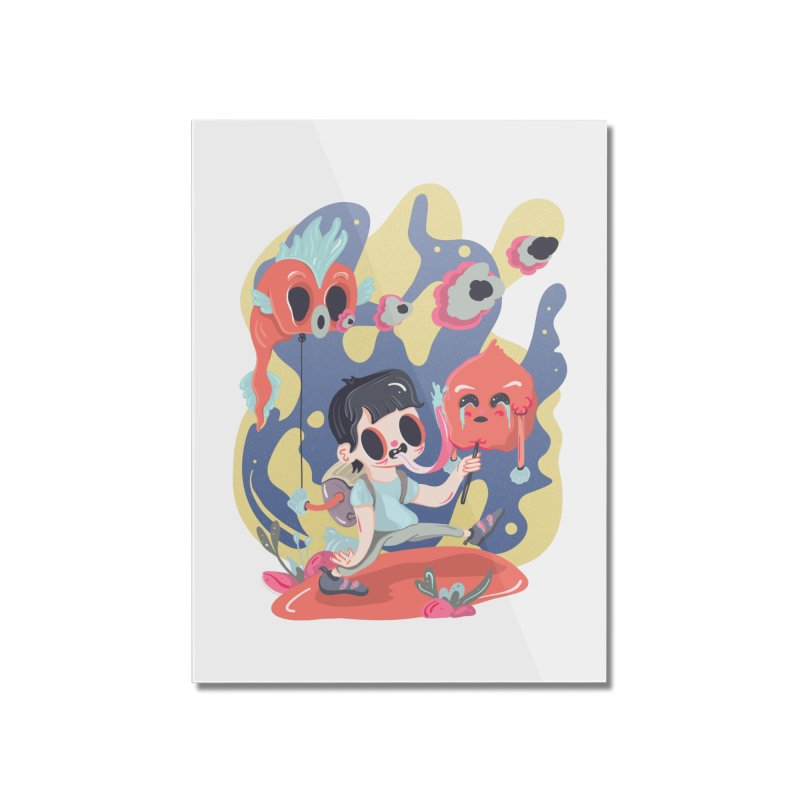The sugar deborator Home Mounted Acrylic Print by · STUDI X-LEE ·
