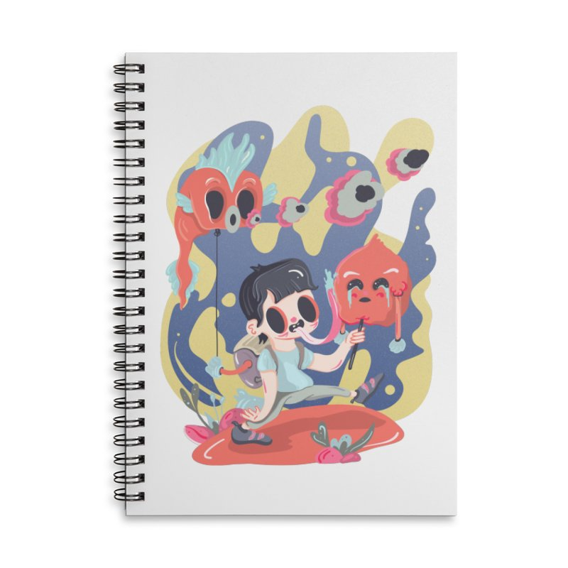 The sugar deborator Accessories Lined Spiral Notebook by · STUDI X-LEE ·