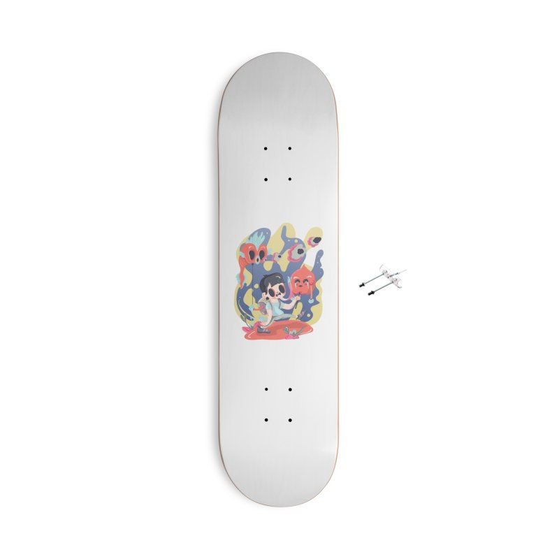 The sugar deborator Accessories Skateboard by · STUDI X-LEE ·
