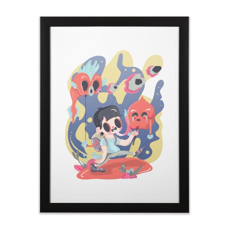 The sugar deborator Home Framed Fine Art Print by · STUDI X-LEE ·