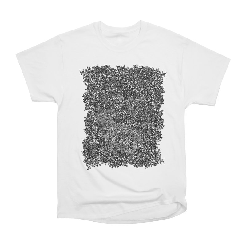 Cat in the garden Men's T-Shirt by · STUDI X-LEE ·