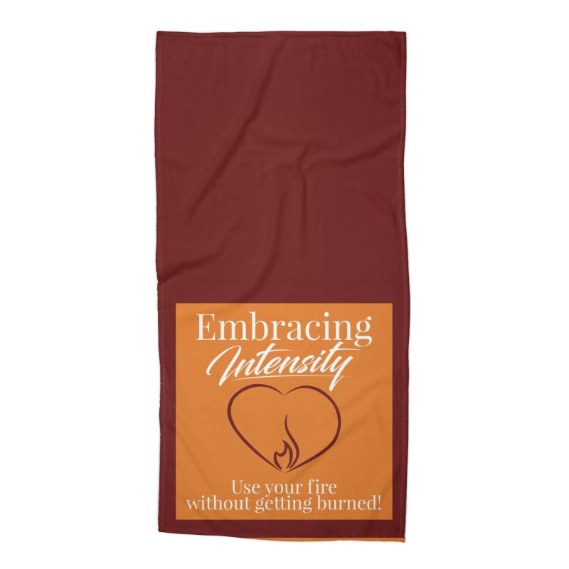 Embracing Intensity Square Accessories Beach Towel by XpressYourPower Shop