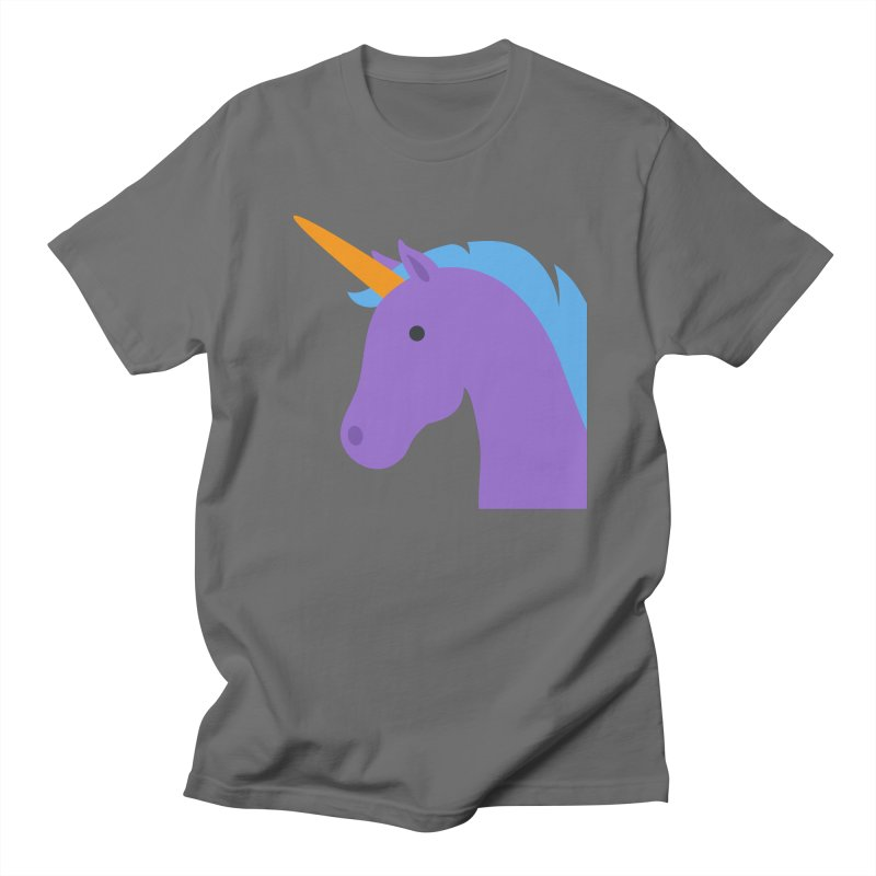 Unicorn Emoji Men's T-Shirt by XpressYourPower Shop