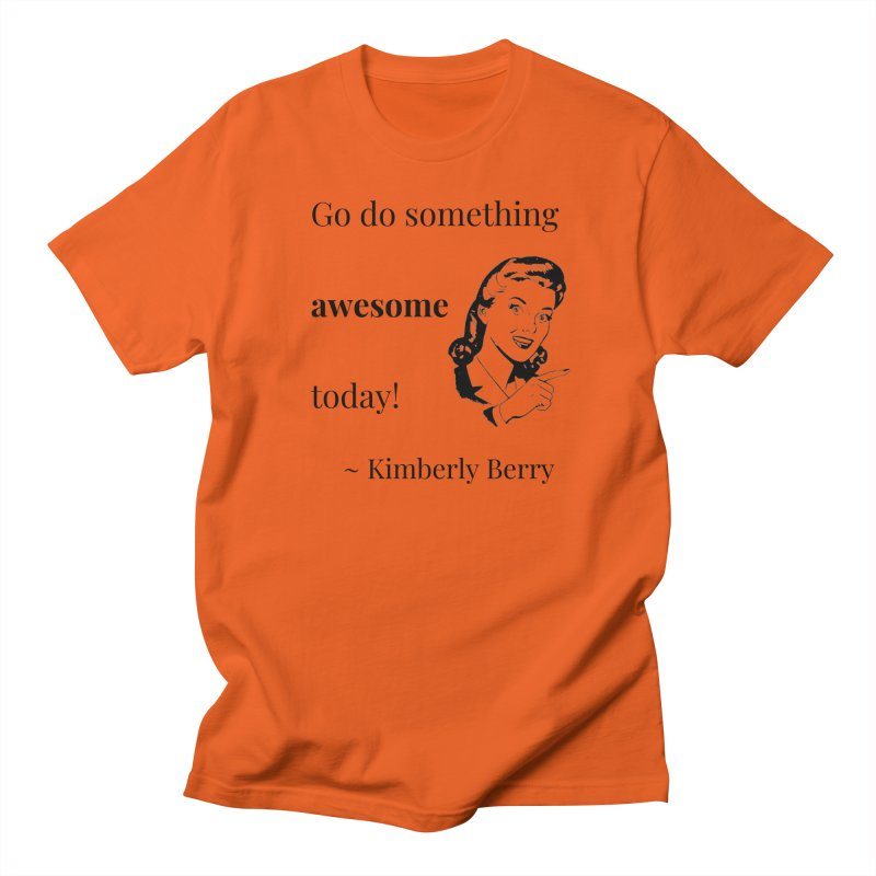 Do something awesome! Men's Regular T-Shirt by XpressYourPower Shop